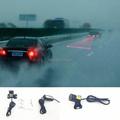 Car Rainproof Anti Fog Anti Collision Laser Warning Light Laser Anti Rear Fog Lamp Auto Laser