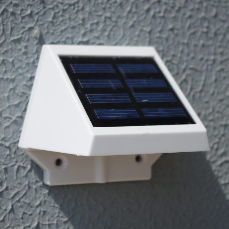 iluminacao de jardim a energia solarde parede Solares Super Brilho de