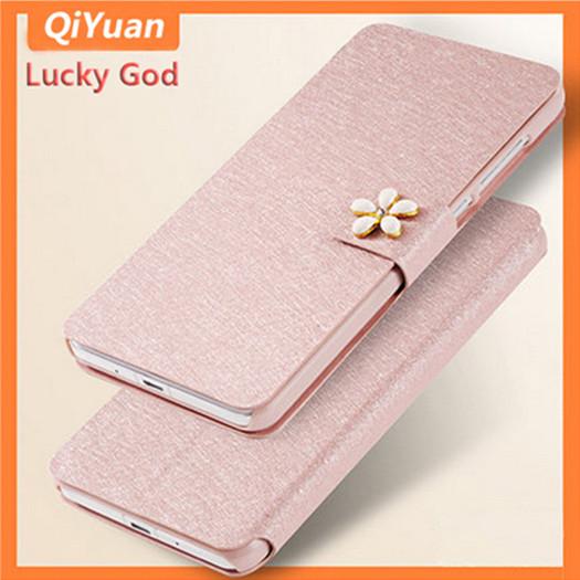 Original Flip Wallet Silk Leather Case Oneplus X 5.0 inch Card Hoder Stander Hot Sale High One plus X