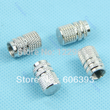 12pcs /3set Silver Auto Car Truck Tire Tyre Wheel Round Ventil Valve Stems Cap For Auto Car Truck +Free shipping