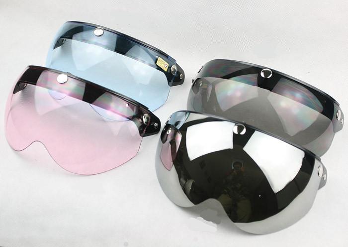 Free shipping!Fashion motorcycle helmet half face lens,electric bicycle capacete visor mirror,TORC T-50 PC Anti-UV Lens,EVO MRC(China (Mainland))