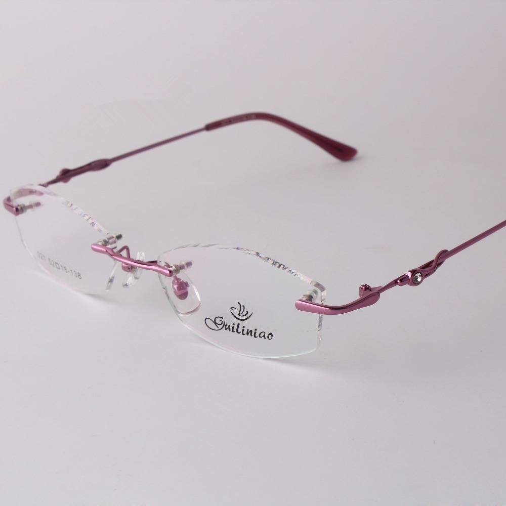 rimless eyeglass frames  Online Buy Wholesale design rimless glasses from China design ...
