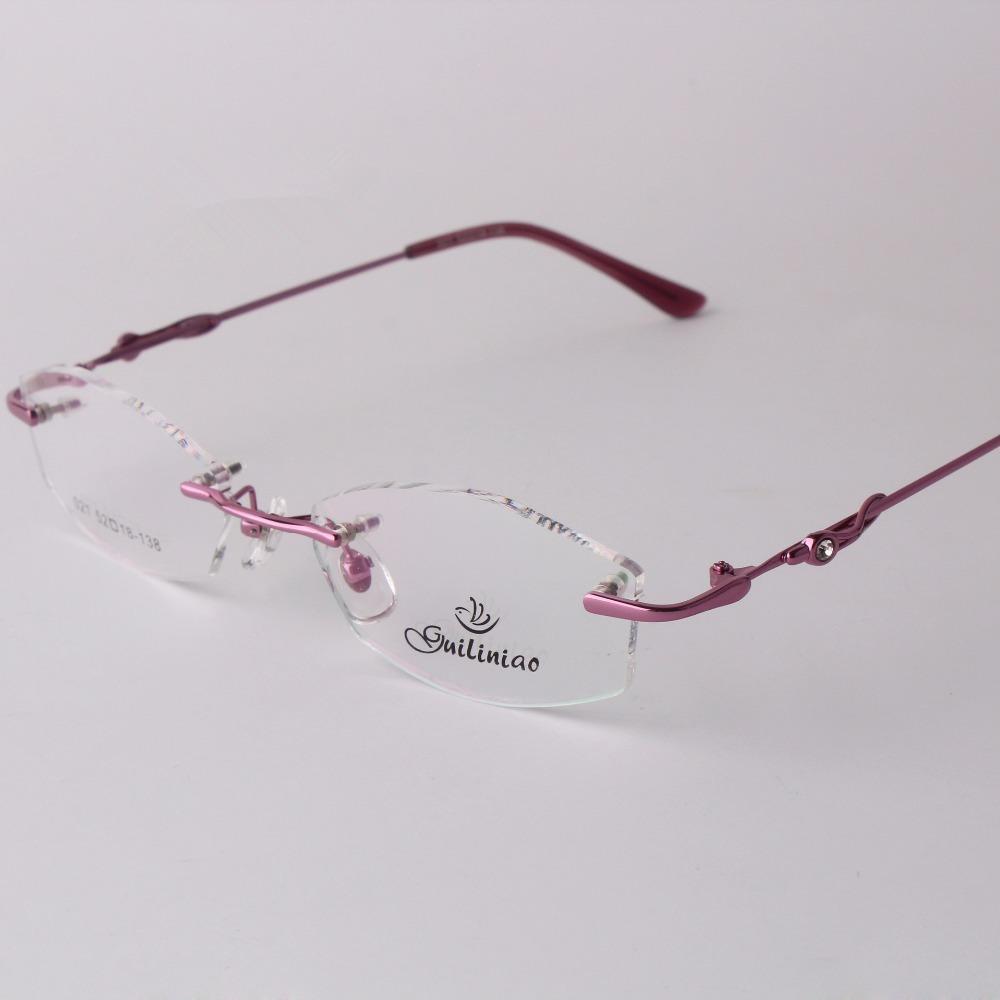 rimless eyeglass frames  Online Buy Wholesale design rimless glasses from China design ...