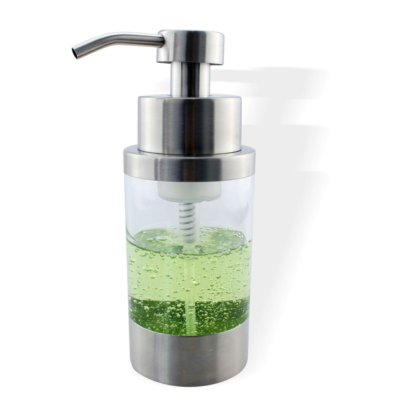 stainless steel soap liquid dispenser bottle kitchen