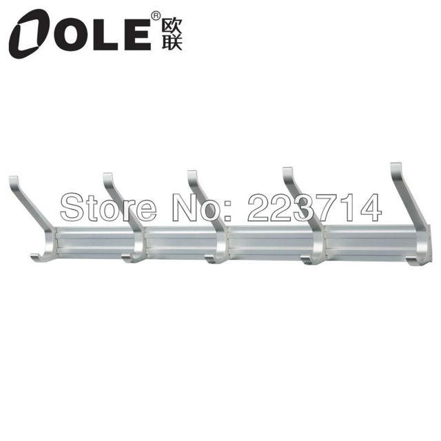 OLE back door space aluminium clothes hook in bathroom or kitchen J9201-5