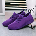 Women casual shoes breathable fashion womens flat shoes 2017 New Arrivals mix colors Women shoes