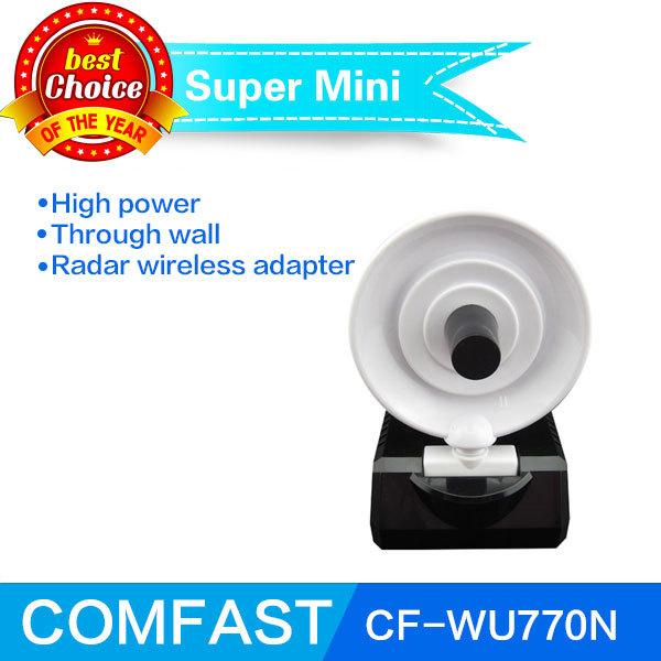 High power 150Mbps wireless usb Radar adapter Comfast CF-WU770N RALINK3070L high gain usb wifi antenna free shipping(China (Mainland))