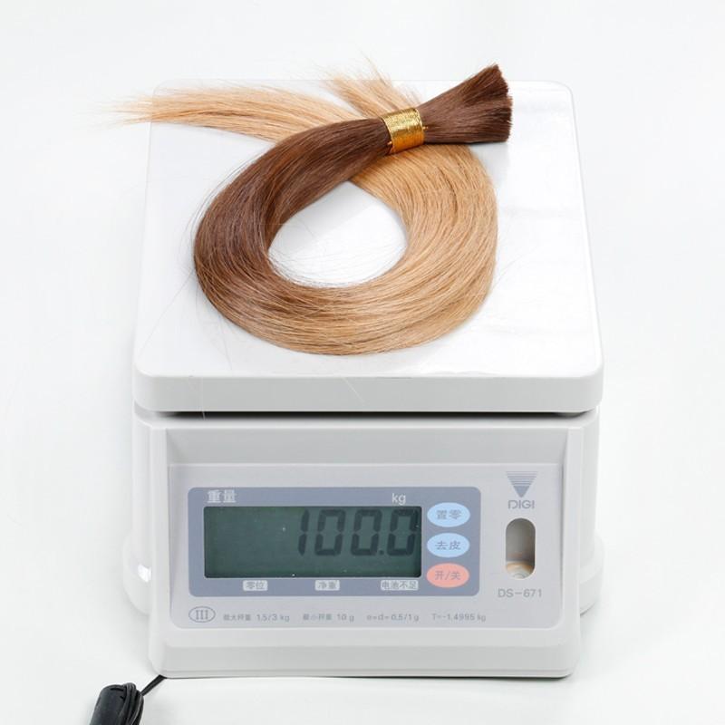 Sleek Ombre Bulk Hair Weaving, Brazilian Virgin Hair, Human Braiding Hair Bulk, Two-Tone Ombre Bulk Hair Extension Free Shipping