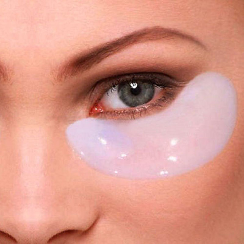 15pair/lot Deck Out Women Crystal Eyelid Patch Anti-Wrinkle Crystal Collagen Eye Mask Remove Black Eye Post free shipping(China (Mainland))