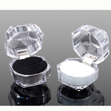 Free Shipping!!!Fshion Acrylic Trending Transparent Jewelry Box Earrings And Rings Packing Box For Women From Aliexpress(China (Mainland))