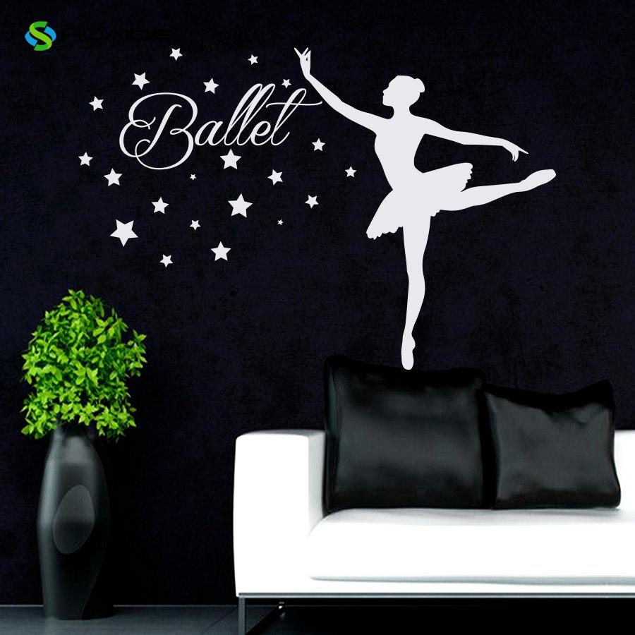 Adesivi murali per camere ragazze - Camera da letto decorazioni murali ...