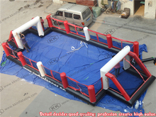 Cheap Kuwait Inflatable soccer fence for promotion Football Court Inflatable(China (Mainland))
