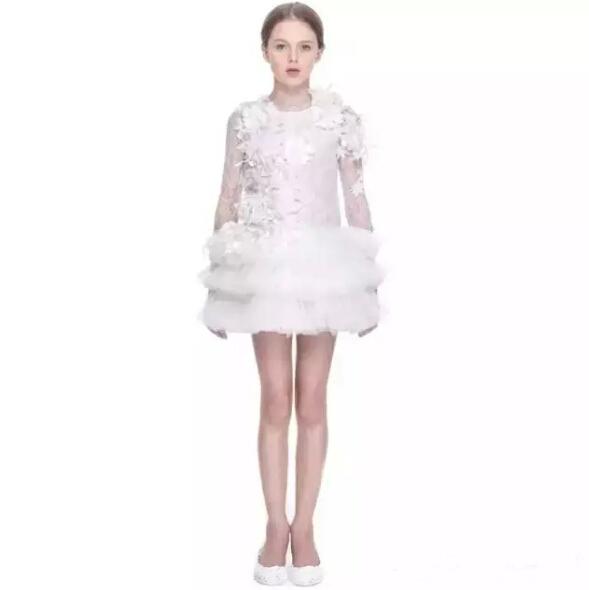 Girls Dress Kids Clothes 2015 Brand New Princess Dress Girl Lace Flower Children Dress Ball Gown Kids Dresses for Girls Party<br><br>Aliexpress