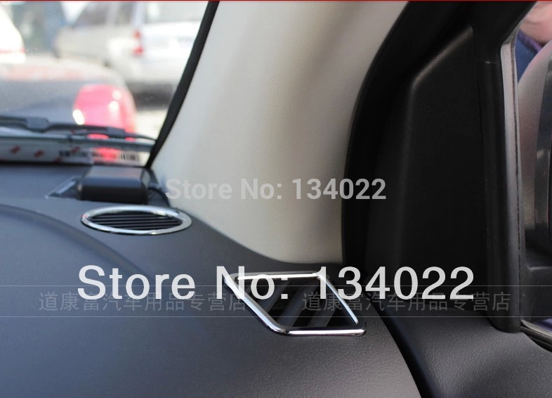 ABS car stickers conversion audio circle special affixed decorative frame door speakers for Jeep compass and for Jeep Patriot(China (Mainland))