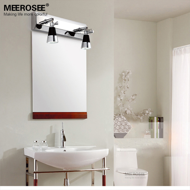 Led Wall Sconces For Bathroom : Buy Round 8.5-inch LED Wall Mount Chrome Finish Cosmetic Mirror at LightInTheBox - ChinaPrices.net