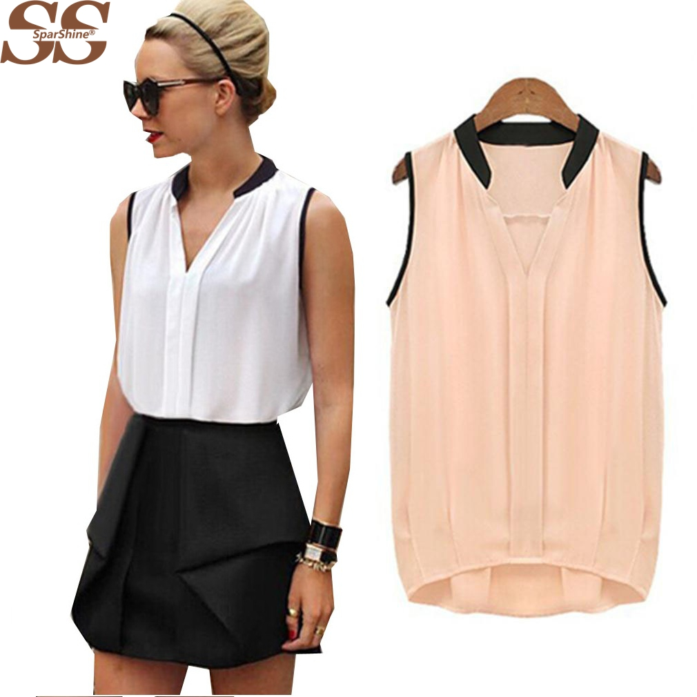 Online Get Cheap Womens Sleeveless Blouses -Aliexpress.com ...