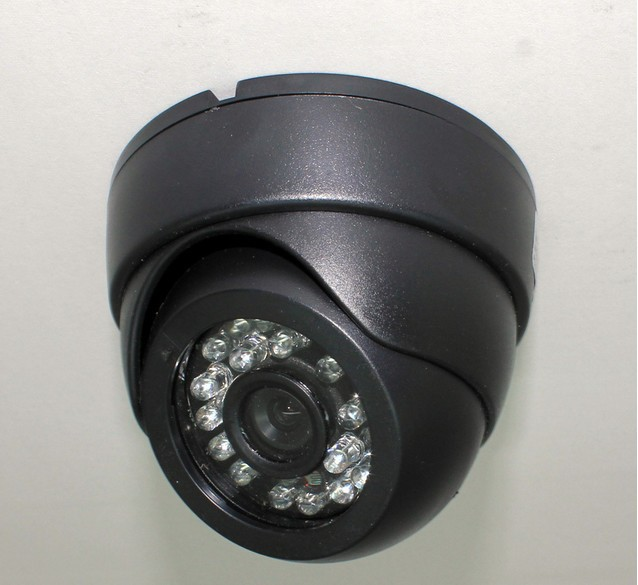 2014 NEW Product 24 LED 1000TVL CCTV 1/3 CMOS IR Indoor Security Surveillance Dome Camera