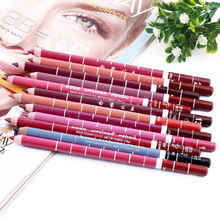 Hot Sale Lot Colors Professional 12PCS Lipliner Waterproof Lip Liner Pencil 15CM  M01248
