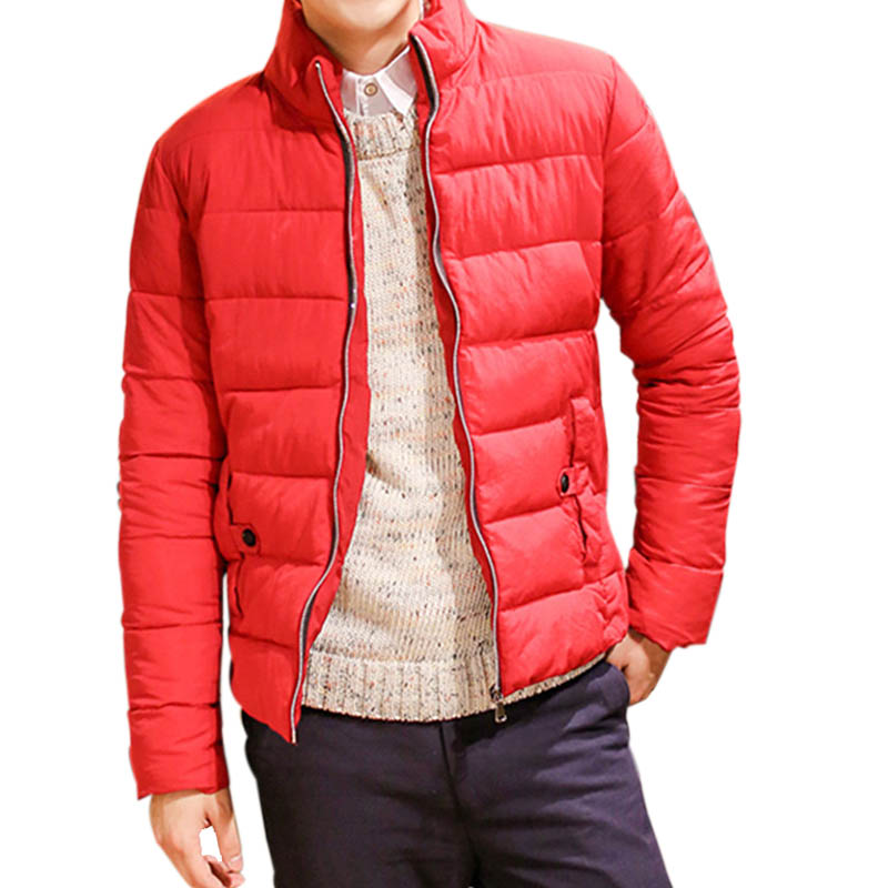 2015 Jackets Men Fashion Winter Brand Men Parkas Wadded Outdoors Overcoat Warm Cotton Men s Winter
