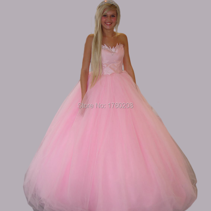 Pink Prom And Ball Dresses - Eligent Prom Dresses