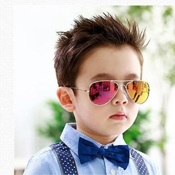 2015 Новая мода мальчики девочки дети аксессуары солнцезащитные очки анти УФ классические детей большое количество покрытия очки óculos