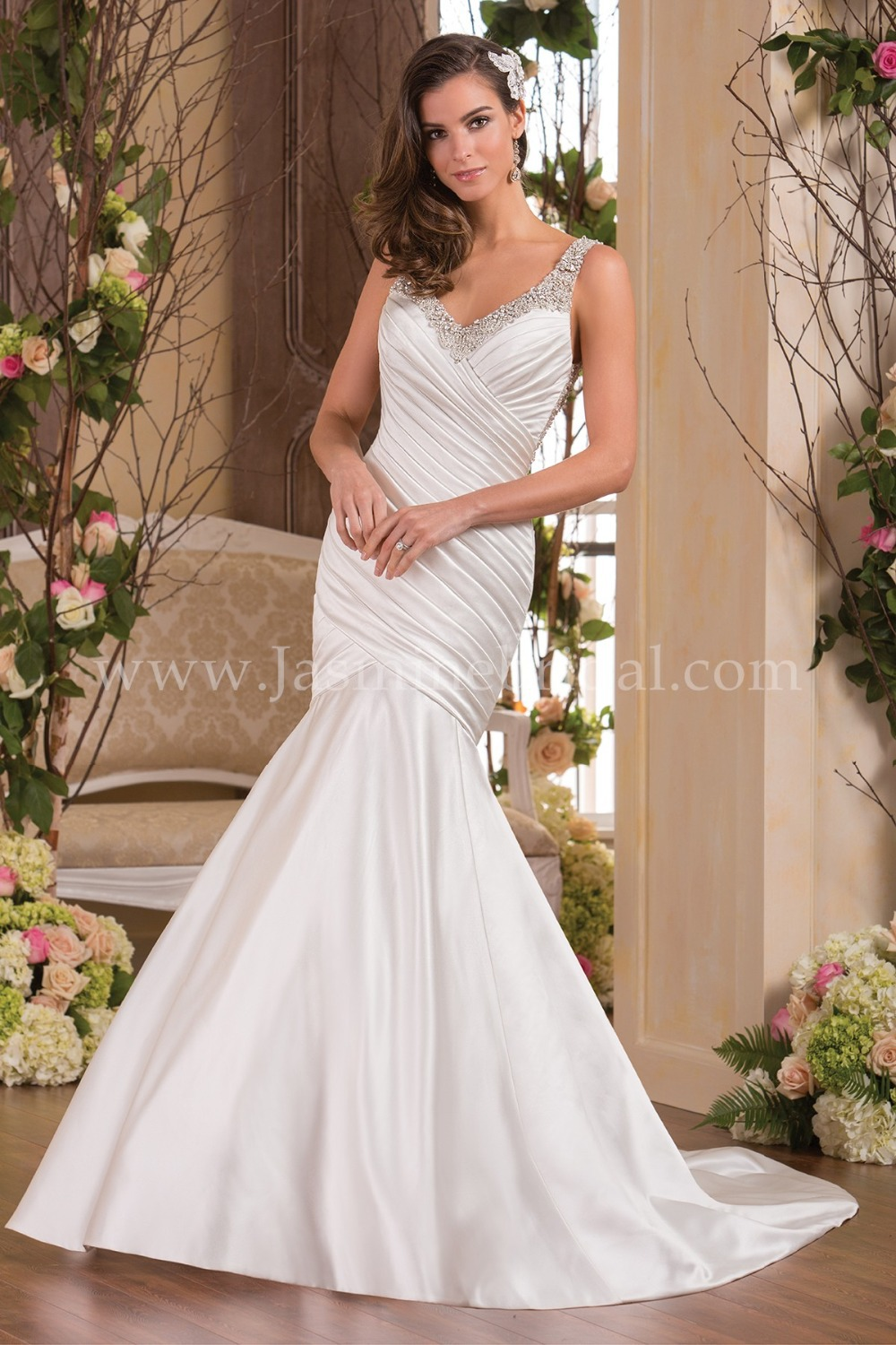 Buy fantastic backless mermaid wedding for Backless satin wedding dress