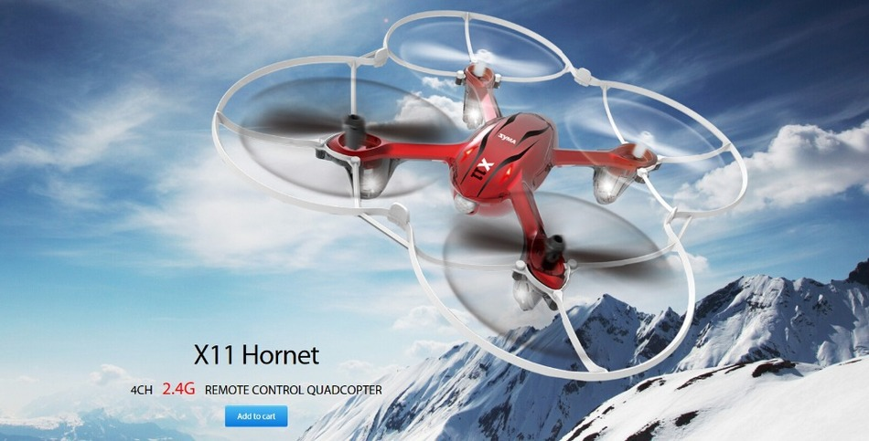 Original X11 GYRO 2.4G 4CH 4-Axis Mini RC Helicopter Radio Control UFO Quadcopter Quad Copter RTF with Tracking Number(China (Mainland))