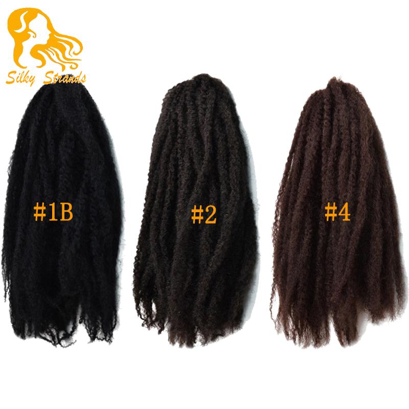 Free Shipping Afro Kinky Marley Ombre Kanekalon Braiding