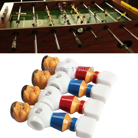 4pcs Rod Foosball Soccer Table Football Men Player Replacement Parts(China (Mainland))