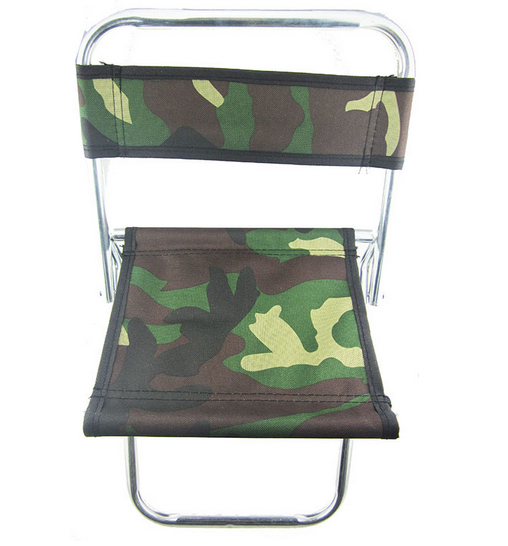 Promotion camouflage fishing chair Portable Chair Folding Seat Stool Fishing Camping Hiking Gardening Pouch Free shipping chair(China (Mainland))