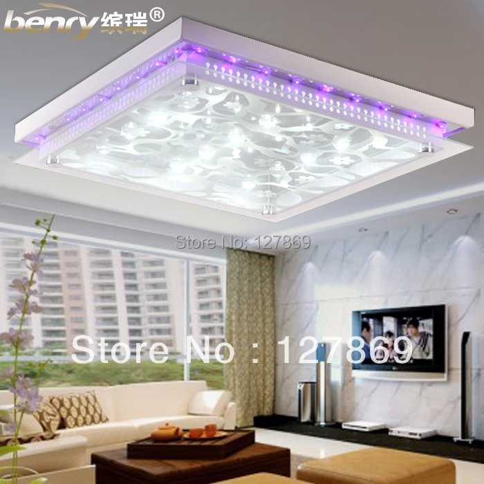 Bin shui living room modern minimalist high power led for Living room ceiling lights