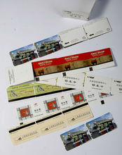 white board paper adhesive stickers boarding pass printing(China (Mainland))