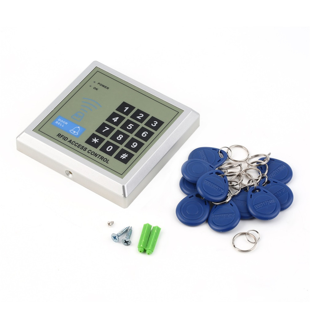 Electronic RFID Proximity Entry Door Lock Access Control System + 10 Key Fobs<br><br>Aliexpress