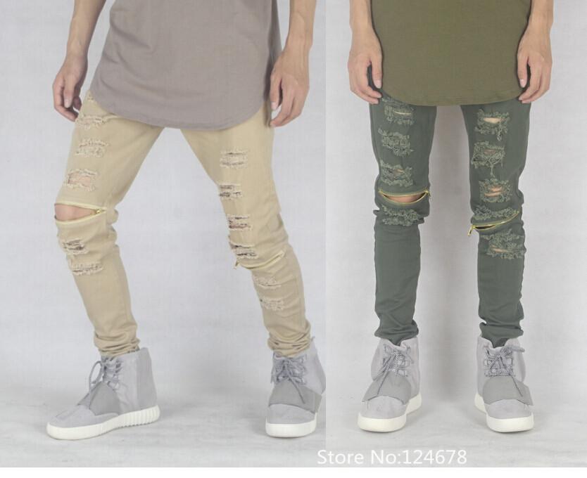 Slim Ripped Jeans - Xtellar Jeans