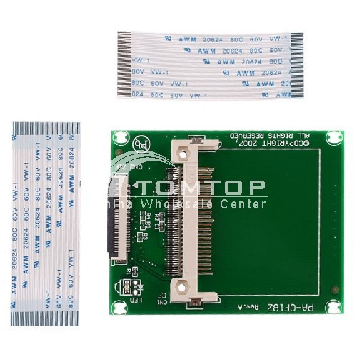 "CF to Zif 1.8"" HDD SSD Hard Drive IDE Adapter 100% brand new, Free / Drop Shipping Wholesale(China (Mainland))"