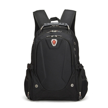 Top Quality Swiss backpack Large 17 inch notebook rucksack woman man travel computer Backpack sports school daypack waterproof(China (Mainland))