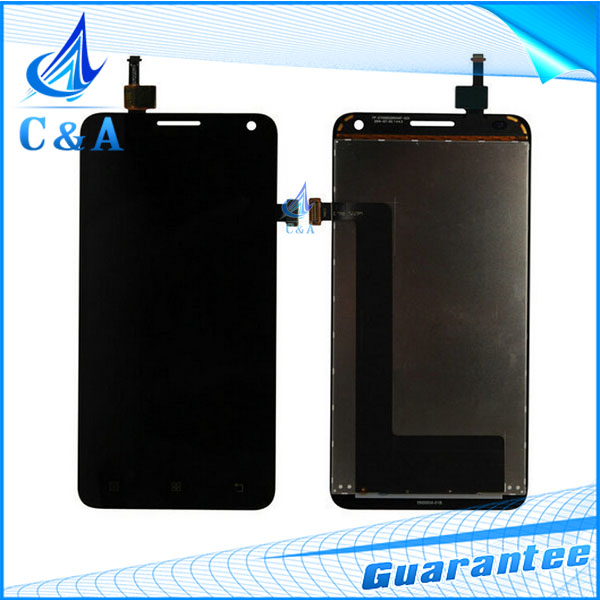 1 PC tested HK free shipping replacement repair parts 5 inch screen for Lenovo S580 lcd display with touch digitizer assembly