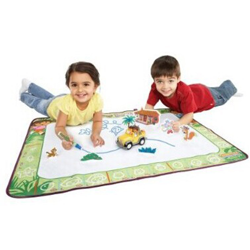 Big size 60cm x 90cm Children Water Drawing Toys drawing board/ mat Aquadoodle play Mat with 1pc Magic Pen(China (Mainland))
