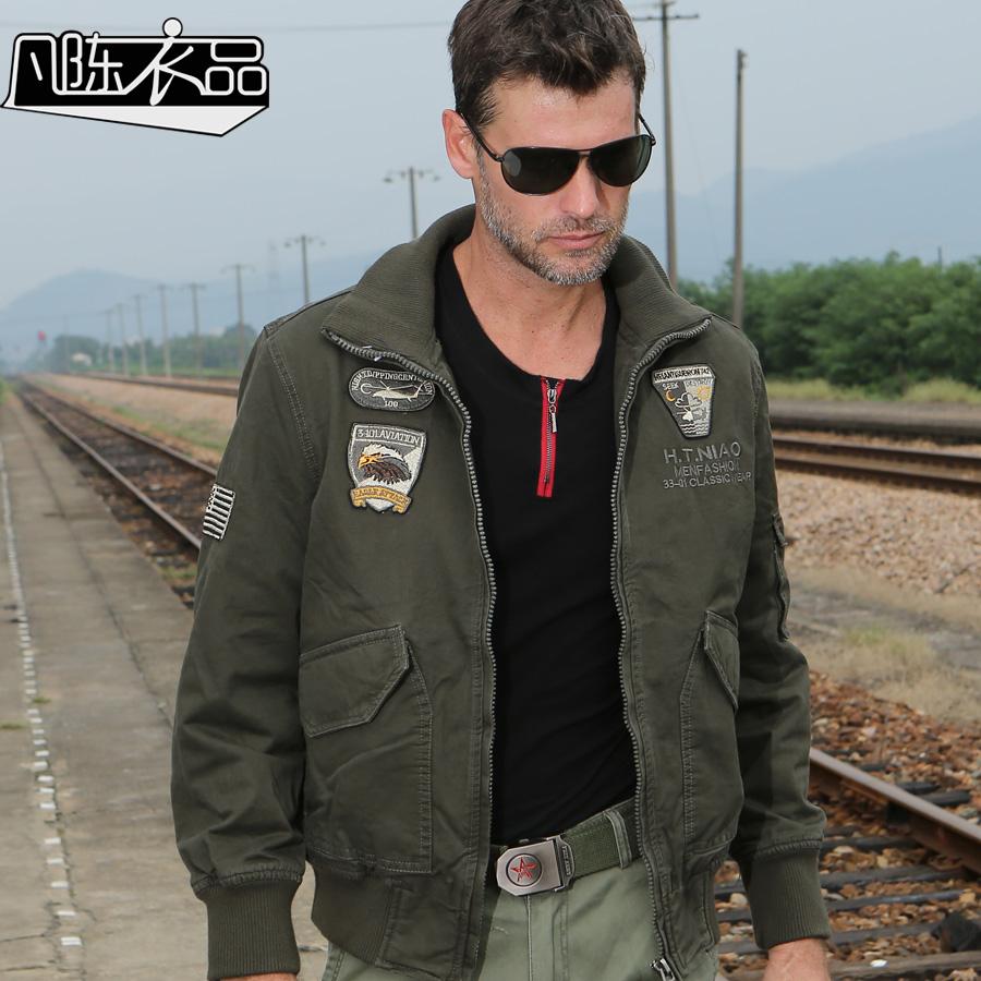 2016 nuovi uomini giacca militare esercito americano m65 militare giacca 101 pilota casuale tuta sportiva all'aperto uomini(China (Mainland))