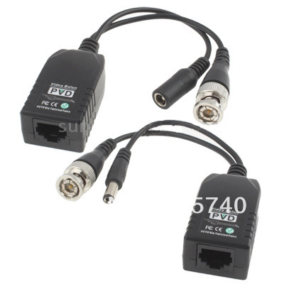 1-CH Passive Power & Video Balun Connector - Shenzhen JiaBeiAn technology co., LTD store