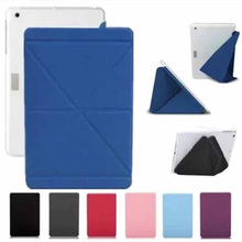 New Moshi Versacover PU leather fold shapes Business case for Apple Mini 4 + free shipping(China (Mainland))