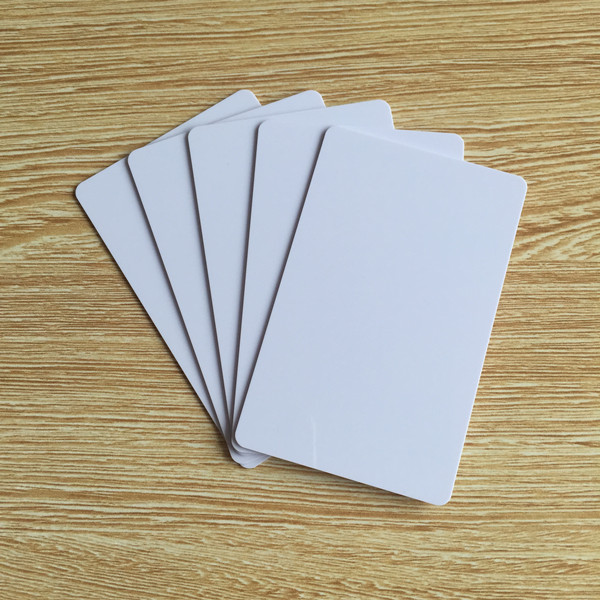 13.56mhz blank white ISO 14443A 1k hotel key access control low cost rfid card,rfid smart card,rfid card(China (Mainland))