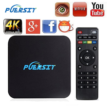 Buy Puersit Q Pro TV BOX Android 5.1 1G RAM + 8G ROM Amlogic S805 Quad core Cortex A7 Facebook Youtube Google HD Media Player PK X92 for $19.80 in AliExpress store