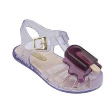 2016 bunte mini Melissa pvc schuhe sommer kinder-sandalen süße mädchen schuhe kinder baby schuhe uns 6-11(China (Mainland))