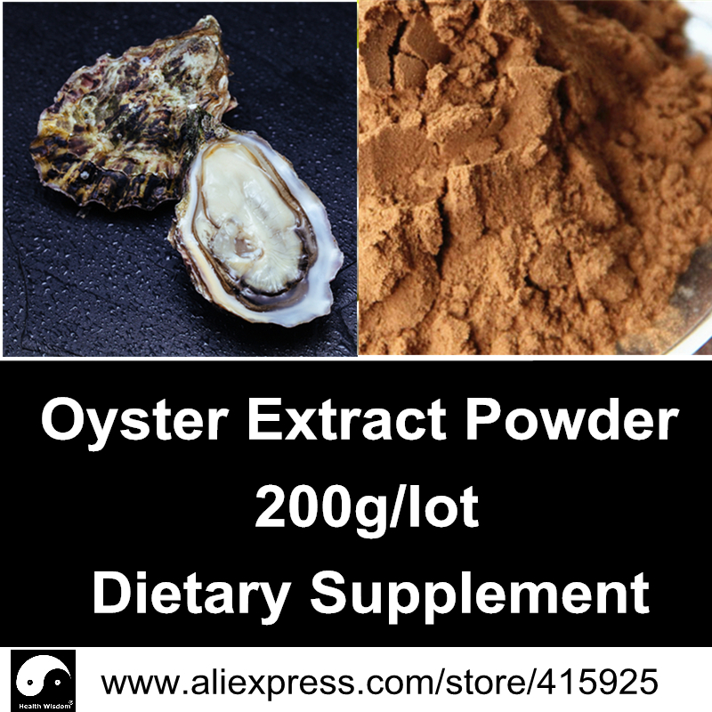 Natural Oyster Extract Powder 200g Sexual Health Dietary Supplements Ostrea Gigas Thunberg<br><br>Aliexpress