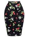 Summer faldas Womens Pencil 50s style Skirts Polka Dot woman Short Cotton Plus Size sexy Bodycon