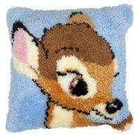 Lovely Deer DIY Unfinished Crocheting Yarn Mat Latch Hook Rug Kit Floor Mat Santa Claus Picture Carpet Set(China (Mainland))
