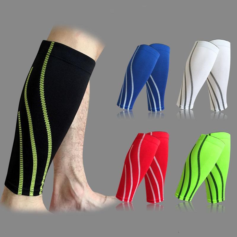 1PCS Football Pads Shin Guards Soccer Protective Leg Calf Compression Sleeves Sports Safety Cycling Running Fitness shinguards(China (Mainland))