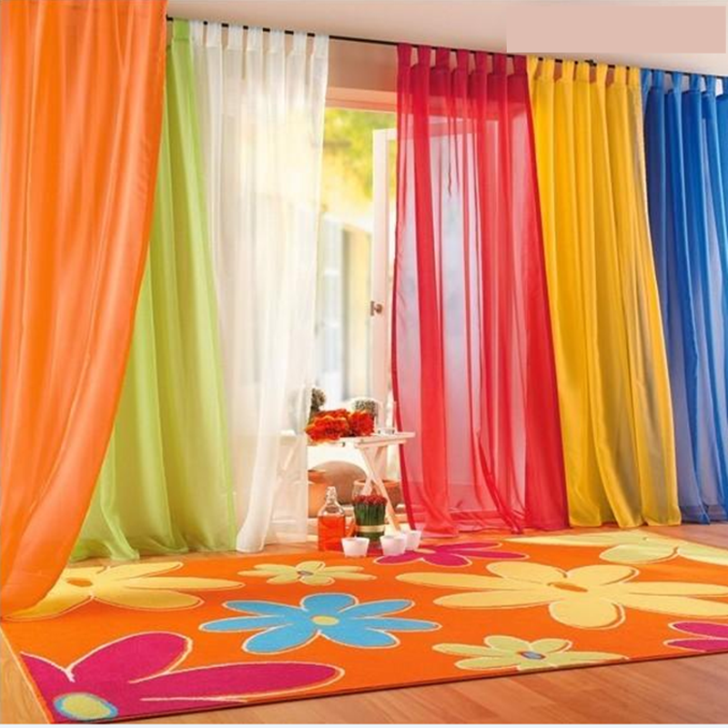 Brand New 2016 Window Curtains Hot Sale Solid Color For