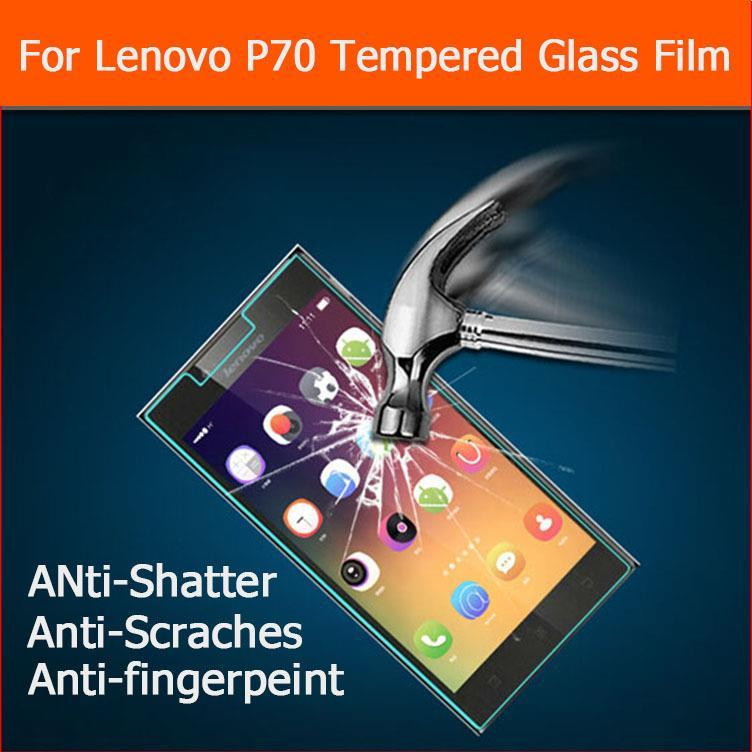 Ultra Thin 0.33mm 2.5D Tempered Glass film Lenovo P70 P70T 5.0 inch Anti-shatter explosion proof protector Screen Clear Lcd - BIZTURBO Direct Sale store